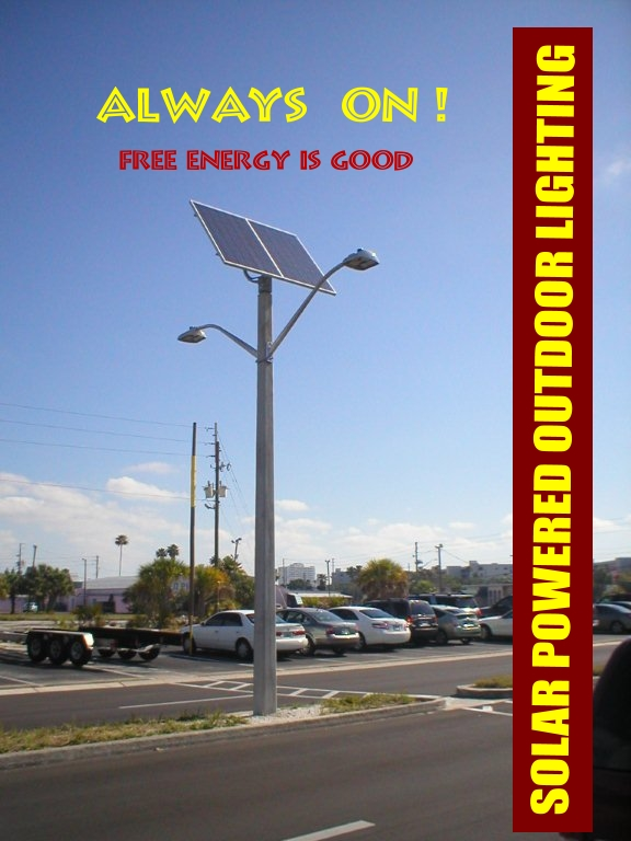 Solar and Outdoor Street Lighting, LED/Induction